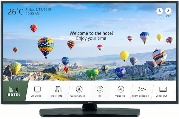 LG 43UT661H UHD Smart Hotel-TV