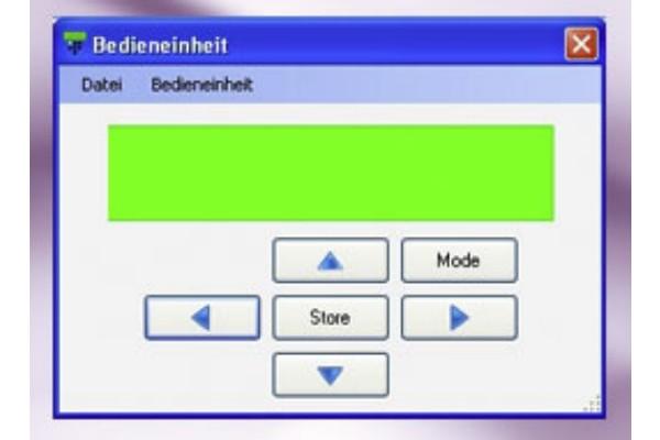 GSS PSW 160 Fernbediensoftware