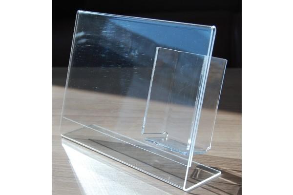 Plexiglas Tischaufsteller DIN A5