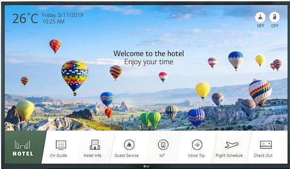 LG 65UT662H UHD Smart Hotel-TV